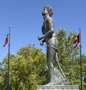 Statue of Terry Fox Thunder Bay